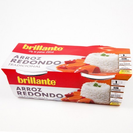 Arroz Brillante Guarnición Redondo