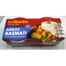 Arroz Brillante Guarnición Basmati