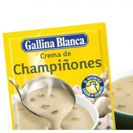 Crema Champiñones Gallina Blanca
