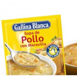 Sopa Ave con Fideos Gallina Blanca