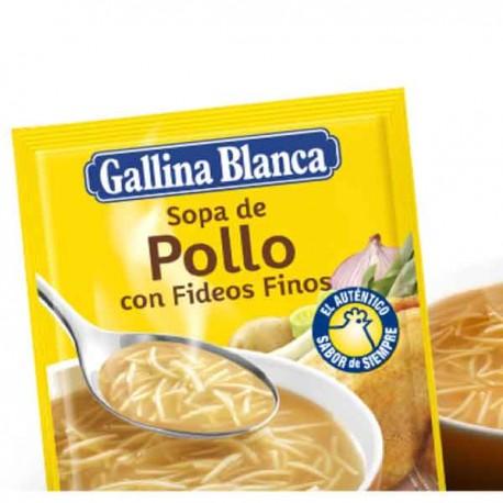 Sopa Pollo Fideos Gallina Blanca