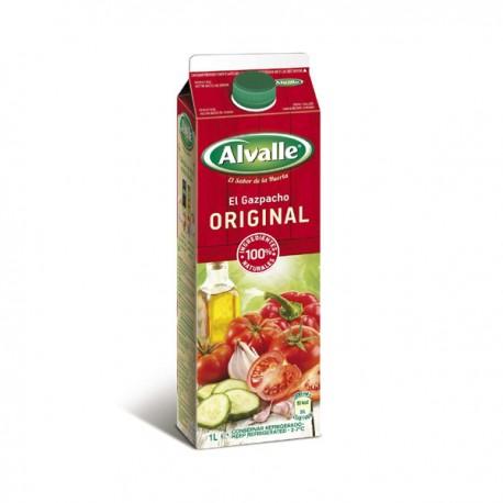 Gazpacho Alvalle Original 1l