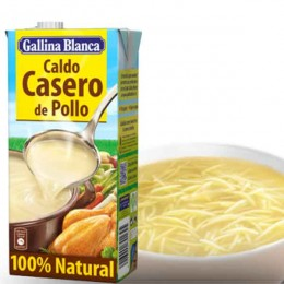 Caldo 100% Natural de Pollo Gallina Blanca