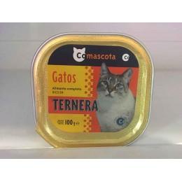 Comida para gatos Coaliment Ternera 100gr