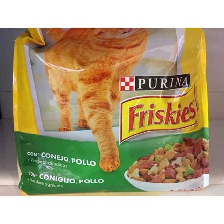 Friskies Gatos Vitaminas Pollo y verduras 1,5kg