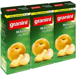 Granini Melocotón Néctar Pack 3