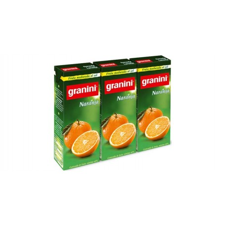 Granini Naranja Néctar Pack 3
