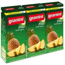 Granini Piña Néctar Pack 3