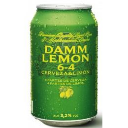 Cerveza Damm Lemon Lata 33cl
