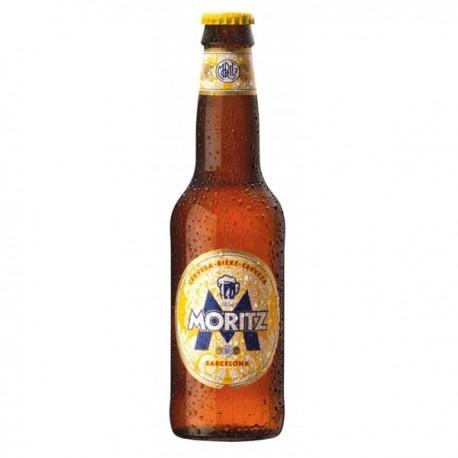 Cerveza Moritz botella 33cl