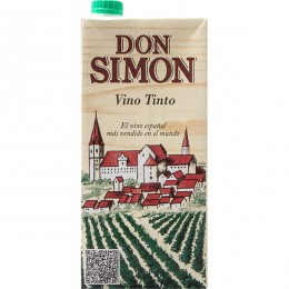 Vino Don Simón Tinto 1l