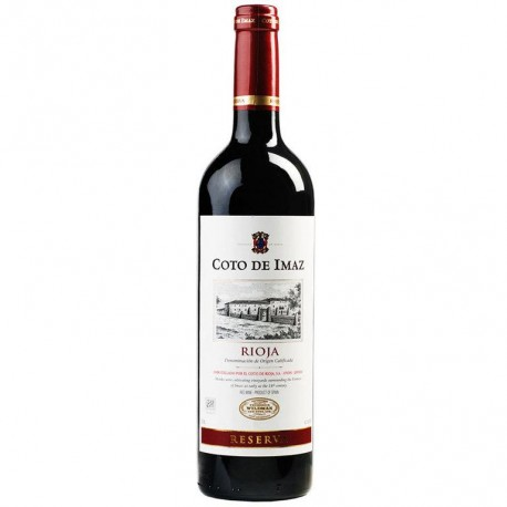 Vino Rioja Coto Imaz Reserva 75cl