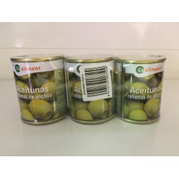 Aceitunas Coaliment Rellenas Pack 3