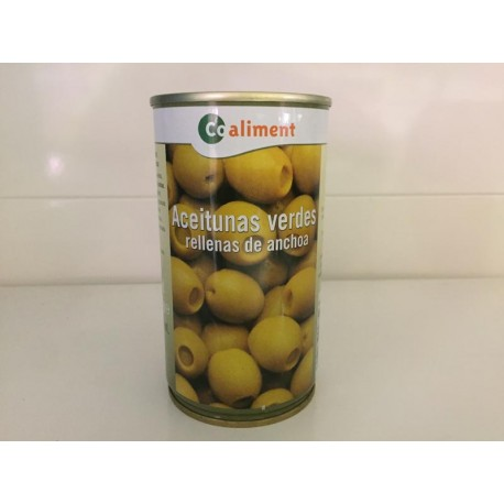 Aceitunas Coaliment Rellenas Lata 350grs