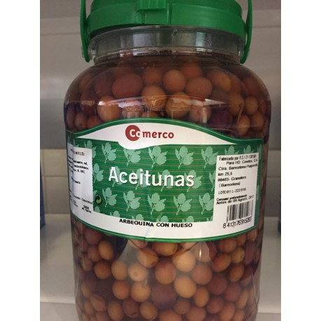 Aceitunas Comerco Galon Arbequina