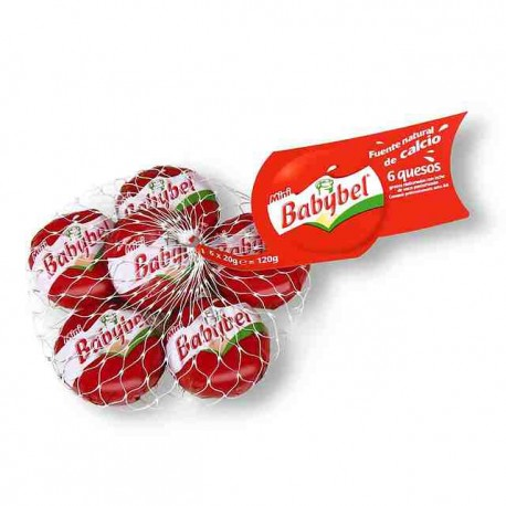 Queso Mini Babybel 6u