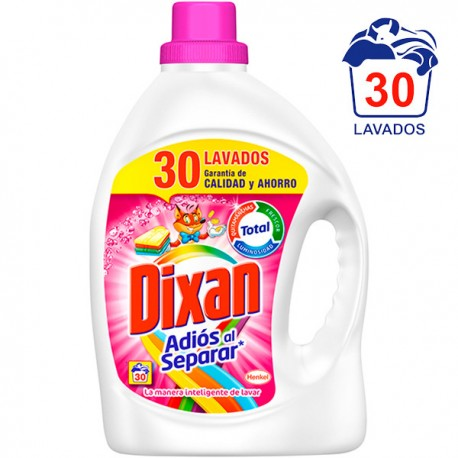 Detergente Liquido Dixan Adios Separar