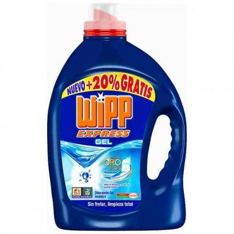 Detergente Liquido WIPP Gel Azul