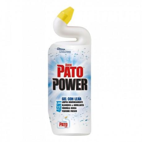 Limpiabaño Pato WC Power Lejía Fresh