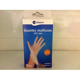 Guantes Coaliment Latex Grande