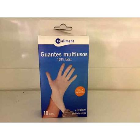 Guantes Coaliment Latex Pequeño