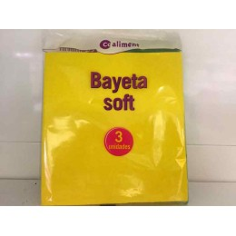 Bayeta Coaliment Amarilla Soft