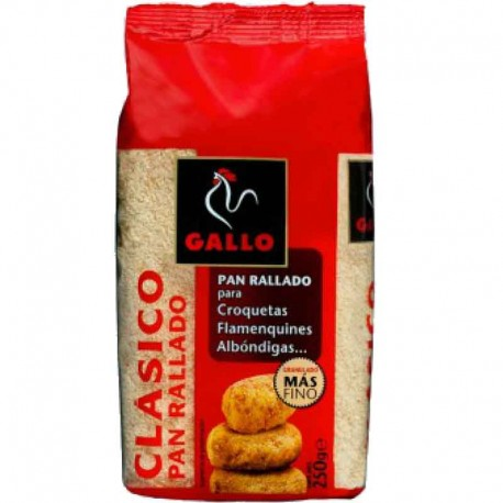 Pan rallado Gallo 250grs