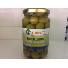 Aceitunas Coaliment Manzanilla C/H 340grs
