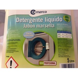 Detergente Liquido Marsella Comerco 5L