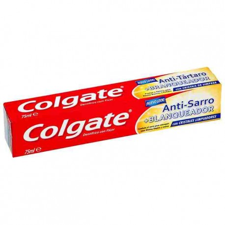 Dentífrico Colgate Antisarro Blanqueador