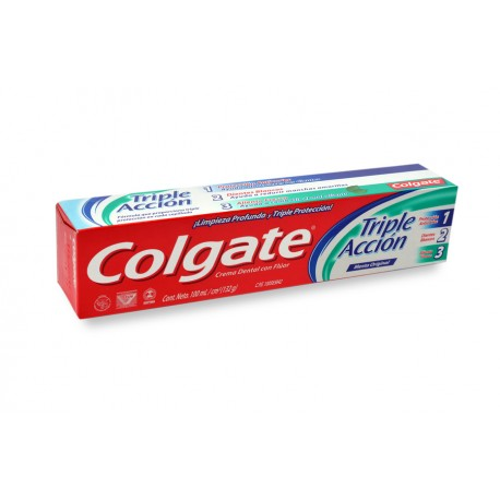 Dentífrico Colgate Triple Action