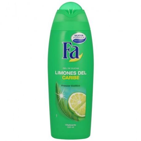 Gel Fa Limón Caribe Verde