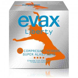Compresas Evax Liberty Super alas