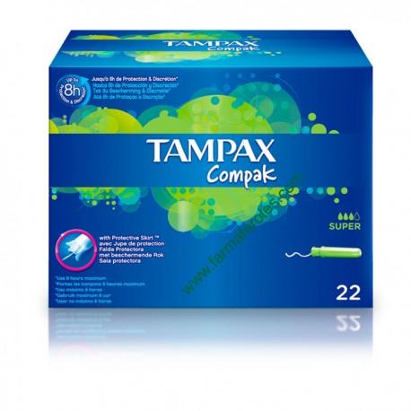 Tampón Tampax Compac Super