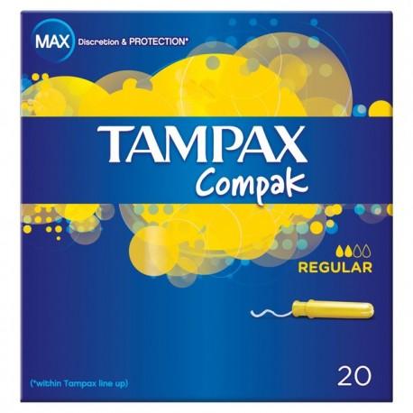 Tampón Tampax Compac Regular