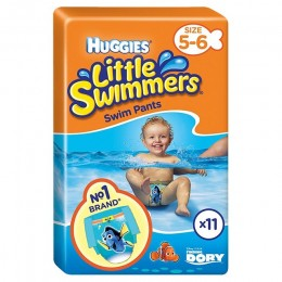 Pañales Huggies Littel Swimmers 11/18k