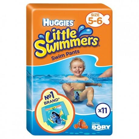 Pañales Huggies Littel Swimmers 11/18k