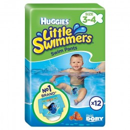 Pañales Huggies Littel Swimmers 7/15k
