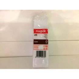 Cuchillos Plástico 25un Nupik