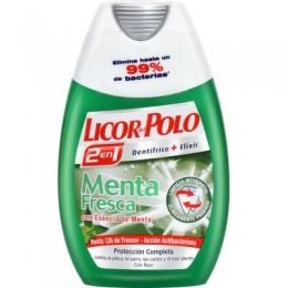 Dentífrico+elixir Licor del Polo Menta Fresca