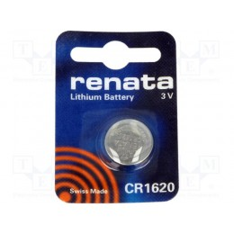 Pila Lithium Renata CR1620