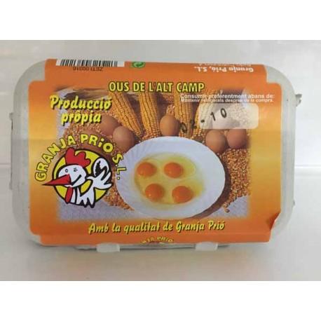 Huevos Granja Prió XL 6u.