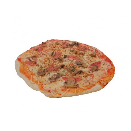 Pizza Jamón Dulce y Champiñones Pizza Plaza