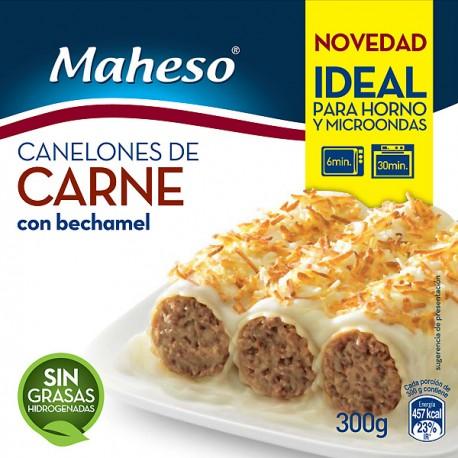 Canelones de Carne Maheso