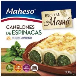 Canelones de Espinacas Maheso