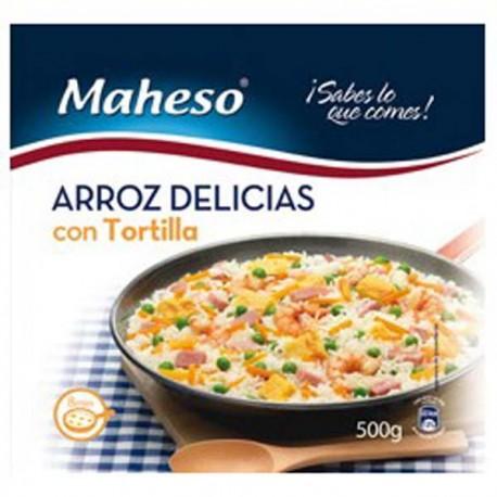 Arroz 3 delicias tortilla Maheso