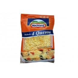 Queso rallado 4 quesos Hochland
