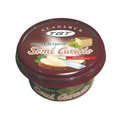 Crema de queso semicurado TGT