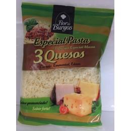 Queso rallado 3 quesos Flor de Burgos