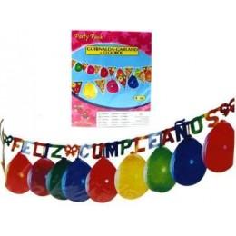 Garlanda cumpleaños 12 globos